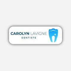 Illustration Name tag - Metal - Standard shape - dentist - Inspiration 246