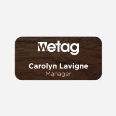 Illustration Name tag - Plastic - Standard shape - Inspiration 106