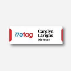 Name tag - Metal - Standard shape - Inspiration 180