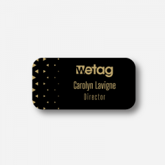 Illustration Name tag - Plastic - Standard shape - Inspiration 187