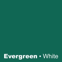 Plastic Evergreen engraved White Wetag