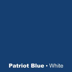 Plastic Patriot Blue engraved White Wetag