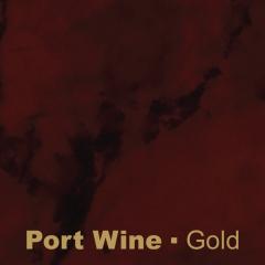 Plastic Port Wine engraved Gold Wetag