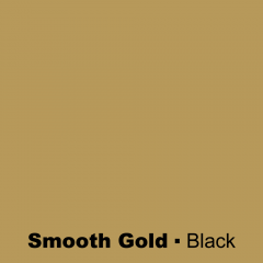 Plastic Smooth Gold engraved Black Wetag