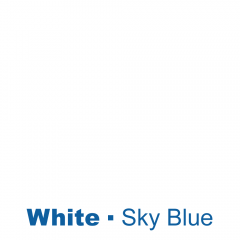 Blanc engraved Sky Blue