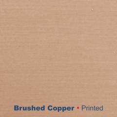 metal printed brushed cooper Wetag