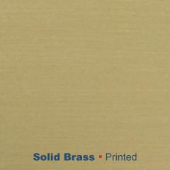 metal printed Solid Brass Wetag