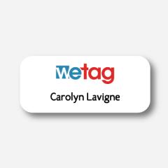 Name tag - Metal - Standard shape - Inspiration 113