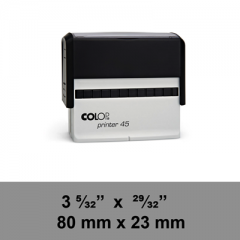 étampe Colop Printer 45 sur mesure dim