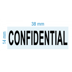 rubber stamp - CONFIDENTIAL - stock 2028