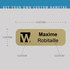Order Custom name tag