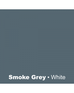 Plastic Smoke Grey engraved White Wetag