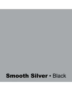 Plastic Smooth Silver engraved Black Wetag